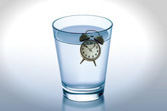 Waste of time concept. Royalty Free Stock Photos