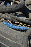 Waste tires Royalty Free Stock Photos