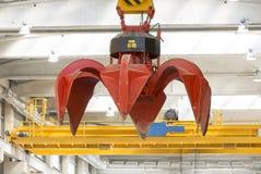 Waste-to-energy crane Royalty Free Stock Photos