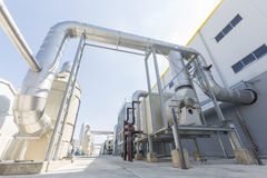 Waste-to-energy facility Royalty Free Stock Images
