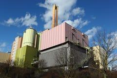 Waste-to-energy plant Stock Image