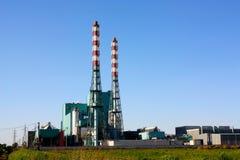 Waste to energy plant Royalty Free Stock Photos