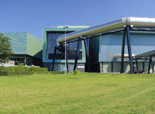 Waste treatment plant Stock Photography