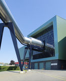 Waste treatment plant Stock Images
