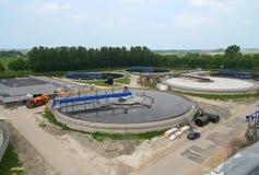 waste vatten för cleaningbehandling Royaltyfria Foton