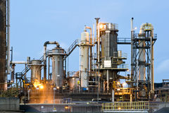 Waste water cleaning facility Royalty Free Stock Photo