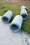 Waste water drain construction Stock Photography