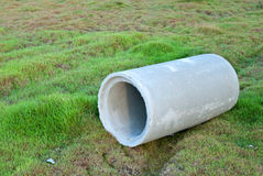 Waste water drain pipe Stock Photos