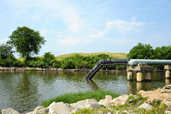 Waste Water Outfall Royalty Free Stock Images