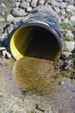 Waste water pipe Royalty Free Stock Image