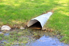 Waste water Pipe Stock Photography