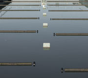 Waste water plant Stock Image