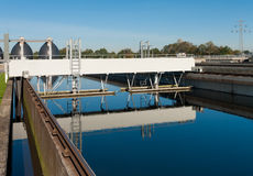 Waste water plant Stock Photos