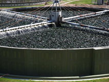 Waste water treatment Stock Image
