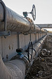 Waste water treatment Stock Images