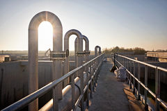 Waste water treatment Royalty Free Stock Photography