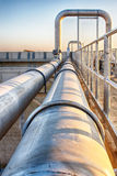 Waste water treatment Stock Photography