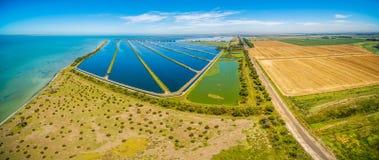 Free Waste Water Treatment Plant , Melbourne, Australia. Stock Photography - 108278102