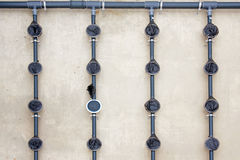 Waste water treatment Royalty Free Stock Images