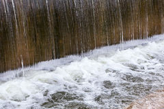 Waste waterfall Royalty Free Stock Images