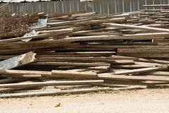 Waste wood Stock Images