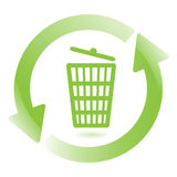 Wastebasket Royalty Free Stock Photo