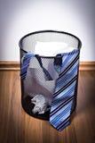 Wastebasket Stock Image