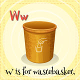 Wastebasket Royalty Free Stock Photos