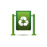Wastebasket icon Royalty Free Stock Photos