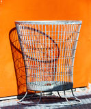 Wastebasket Stock Photo