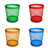 Wastebaskets Royalty Free Stock Image
