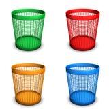 Wastebaskets Royalty Free Stock Image