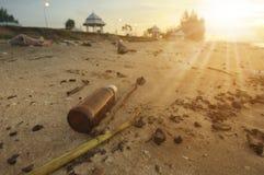 Wasted beach. At Chantaburi, Thailand Stock Photo