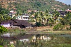 Wasteground em Goa Fotografia de Stock