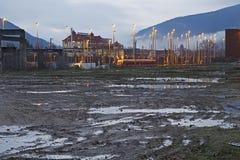 Wasteland Stock Photo