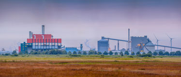 Wasteland industry Royalty Free Stock Images