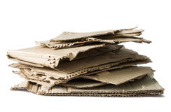 Wastepaper heap Royalty Free Stock Photography