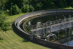 Wastewater traktowanie obraz stock