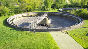 Wastewater Treatment Royalty Free Stock Photography