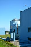 Wastewater treatment factory. Stock Photos