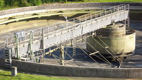 Wastewater Treatment Photo Stock Photo