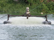 Wastewater treatment Stock Image
