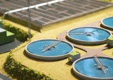 Wastewater zakład przeróbki obrazy royalty free