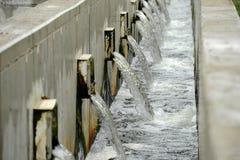 Wastewater zakład przeróbki zdjęcia stock