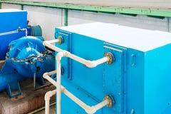 Wastewater zakład przeróbki obraz stock
