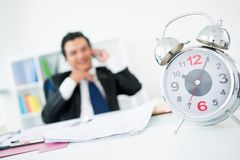 Wasting time Royalty Free Stock Image