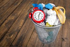Wasting Time Royalty Free Stock Images