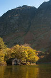 Wastwater Boathouse (Portrait) Stock Photography
