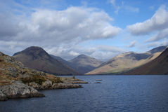 Wastwater Cumbria Royaltyfri Fotografi