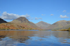 Wastwater Cumbria Stock Afbeelding